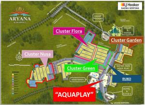 Lokasi Aquaplay Aryana Karawaci