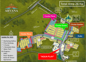 Master Plan Aryana Karawaci